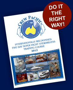 Crew Pacific Super Yacht Training Courses